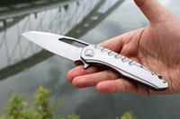 стопорные ножи оптовых-США Компания Local Shipping! Пользовательские Microtect Sigil Flipper 420 Стальная Ручка D2 Атласная Полированная Лезвие Рамка Замок Складной Нож Ножи С Инструментом