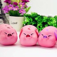Wholesale Novelty Pigs - PU Simulation Pig Squishy Charms Squishy Slow Rising Squeeze Soft Scented Toy Collection Simulation Novelty Toys