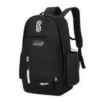 Wholesale basketball backpacks online - Waterproof Training Travel Bags Shoes Bags Basketball Backpacks Kyrie Irving Packs Backpack Unisex Men Women Bags schoolbag