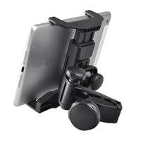 подушка для автомобильного воздуха оптовых-Car Holder Tablet Back Seat Universal Bracket 360 Rotating Headrest Pillow Mount Microphone Tablets PC Stand for iPad Air Mini
