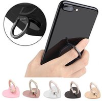Wholesale goophone 5s online - 2018 Universal Degree Finger Ring Grips Metal Cell Smart Phone Stand Holder Kickstand for Goophone X S S