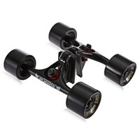 ingrosso l'azione porta-Action Sports arrivo 2Pcs / Set Skateboard camion con Skate Wheel Riser Pad Cuscinetto accessori Ferramenta Installazione Strumento Per Skateboard