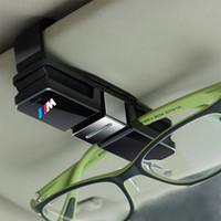 not tutucu klips toptan satış-Çift Güneş Gözlüğü Raptiye Klip Bill Kart Not Tutucu BMW E46 E39 E90 E36 için F30 F10 X5 E35 E34 E30 F20 E60 F11 F34 Z4 X1 X3 X5