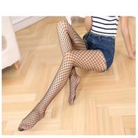 Wholesale silk stockings pantyhose resale online - Fishing Net Pantyhose Spring And Summer Stocking Magic Power Net Sock Silk Stockings Long Style Socks Hot Sale ws ii