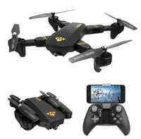 Wholesale hover rc helicopter resale online - RC Visuo XS809HW G Hovering Racing Helicopter RC Drones With MP Camera HD Drone Profissional FPV Quadcopter Aircraft Photography Toy