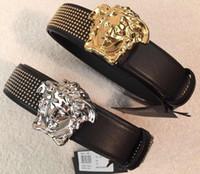 cinturones de hombre de marca al por mayor-Hot NEW designers B cinturones hombres mujer Jeans cinturones Para hombre Mujer Hebilla de metal marca cinturones con el tamaño 100cm-125cm como regalo 01