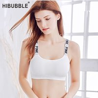 2b4a712b6c9b2 HIBUBBLE Yoga top Sport Bra Chatacter Printed Push Up Bra Fitness Women  Yoga Brassiere Female Sexy Tank Top Gym Sports