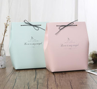 Wholesale Paper Packaging Products - Romatic Paper Bag Wedding Birthday Party Favour Gift Sweets Boxes Papercard Leather Rope Favor Bags Store products packaging XMAS gift wrap