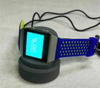 ionisches armband großhandel-Hot USB-Ladegerät für Fitbit Ionic Armband Armbanduhr Ladestation Station Ständer Cradle Holder USB-Ladekabel