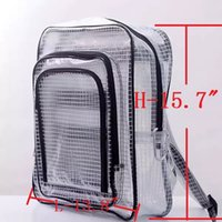 Wholesale computer engineering for sale - Group buy 40cm cm cm anti static clear backpack bag cleanroom engineer bag full cover by pvc for engineer put computer tool working in cleanroom
