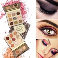 Wholesale earth powder for sale - Group buy Professional Colors Eyeshadow Earth Glitter Eye Shadow Powder Palette Matte Eyeshadow Palette Cosmetic Makeup Beauty
