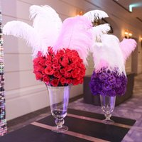 Red feather wedding table decorations nz buy new red feather red feather wedding table decorations nz wholesale 100 pcs per lot white ostrich feather plume junglespirit Image collections