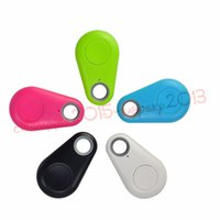 Wholesale gps locator for cell phones online – Activity Gps Tracker Mini Smart Wireless Bluetooth GPS tracker Locator Bag Key Anti Lost Alarm Finder For iPhone android Wallet Car Kid