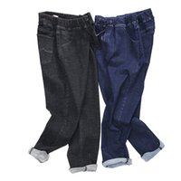 Wholesale Jeans For Large Men - QMGOOD 2018 Brand Jeans Stretch Men Plus Big Size Pants 50 52 Mens High Stretch Big and Tall Large Trouser Loose Jeans for Men