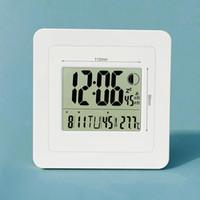 calendrier d'horloges modernes achat en gros de-grand écran horloge murale électronique calendrier avec la température pour le salon moderne bref bureau table réveil numérique Moon Phase H158