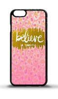 caso ouro s5 venda por atacado-Acredite em si mesmo rosa e ouro phone case para iphone 5c 5s 6 s 6 mais 6 splus 7 7 plus samsung galaxy s5 s6 s6ep s7 s7ep