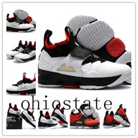Wholesale Crochet Baby Boy Shoe - With box 2018 new LeBron 15 Diamond Turf Basketball Shoes men James 15 Diamond Turf Baby Kids Maternity Baby First Walkers size 7-12