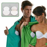 Wholesale disposable underarm armpit sweat pads - Summer Armpit Sweat Pads Underarm Deodorants Stickers Absorbing Disposable Anti Perspiration Patch Wholesale 0606034