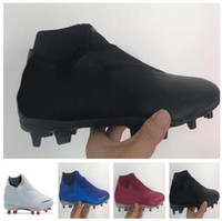 Wholesale new vision for sale - Group buy 2018 new men Phantom Vision Academy MG Shadow Series High Soccer shoes Training Sneakers studded cleated football boots Camping Hiking Boots