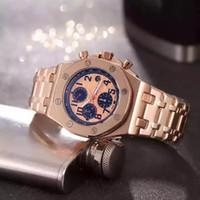 2018 china reloj montres AAA fecha de cuarzo de oro rosa deporte barato al  por mayor de lujo hombres de moda a estrenar de acero inoxidable relojes  para ... 0070932e9023