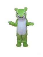 Wholesale Squirrel Mascot Adult Costume - 2018 High quality a green squirrel mascot costume for adult to wear