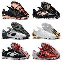 Wholesale best indoor soccer shoes - 2018 Copa 17.1 FG NMen's Indoor Soccer Shoes Cheap Genuine Leather Soccer Cleats Best Quality Football Shoes