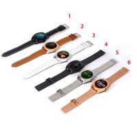 ingrosso braccialetti di schede di visualizzazione-K89 Smart Watch con frequenza cardiaca per iPhone Smart Bracelet LCD Display da 1,5 pollici con SIM Card Telefono intelligente per smartphone
