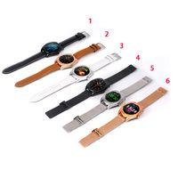 armband handy uhren großhandel-K89 Smart Watch mit Herzfrequenz für iPhone Smart Armband LCD 1.5inch Display mit SIM-Karte Intelligentes Handy für Smartphone