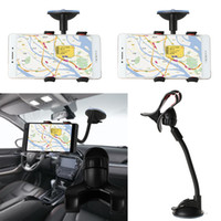 Wholesale phone holder car windshield sucker for sale - Group buy 1 Car Phone Holder Sucker Mount Bracket Stand Degree Rotation Long Arm Windshield With Suction Cup For iPhone Samsung H