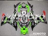 carenado para kawasaki ninja rojo zx6r al por mayor-Tres hermosos regalos gratis nuevas placas de carenado de inyección ABS para Kawasaki Ninja ZX6R 599 636 2013-2016 conjunto de carrocería Negro Rojo Verde O45