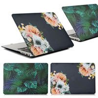 Wholesale prices for laptops china resale online - Price Floral Leaf PC Hard Protective Case for Macbook Air Pro Retina