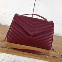 kadınlar için omuz çantaları toptan satış-2018 Sıcak! Lüks Kadın omuz çantası, tasarımcı çanta, lüks çapraz çanta, yeni kapaklı çanta, boyut: 31 * 22 * 11 CM