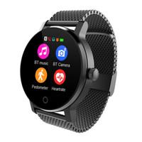 smartwatch hd großhandel-Diggro k88h plus smart watch hd display pulsmesser schrittzähler fitness tracker männer smartwatch verbunden für android