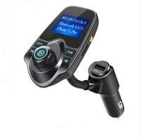Wholesale cars radio for sale - Car MP3 Player Bluetooth FM Transmitter Handsfree Car Kit Wireless MP3 Modulator LCD Display USB Car Charger Support TF
