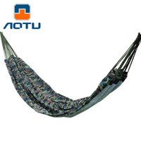 Wholesale couples swings for sale - Group buy Couple Camouflage Hanging Sleeping Outdoor Camping Double Hammock Swing hammock Hanging Bed Outdoor Camping Hiking