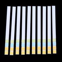 prueba de ph prueba de tira al por mayor-1 Caja Papel de Prueba Universal 100 Tiras 0-14 Color PH Ácido Alcalino Indicador Papel Agua Potable Saliva Prueba de tornasol