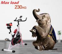 équipement de gymnase de qualité achat en gros de-Cadeaux cadeau de noël Bonne qualité vente chaude Fitness Spinning vélo gym equipment commercial roue vélo exercice