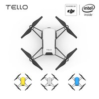 Wholesale drone 720p camera for sale - Group buy Tello Camera Drone Ryze Tello Drones with Coding Education P HD Transmission Quadcopter FVR Helicopter