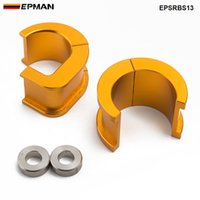 Wholesale EPMAN Car Styling Performance Aluminium Offset Steering Rack Solid Bushings Drivers For Nissan S13 sx EPSRBS13