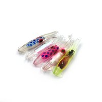 Wholesale octopus squid skirts soft lure for sale - Group buy cm small Lure Squid Sleeve Soft Squid Soft Fishing Lure octopus skirt fishing tackle