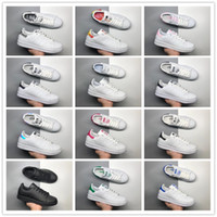 Wholesale brown tail - 2018 Cheap AAA+ quality Classic Stan Smith Green Black Red White tail Casual Running Shoes for Men Women Fashion Sports Sneakers Size 36-45