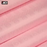 ingrosso sacchetti di tessuto africano-ACI Popolare Baby Pink Tessuto Africano Nigeria Top Quality Bazin Riche Tessuto Guinea Brocade Morbido Damasco 10 Yards / Bag Con Profumo