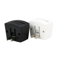 Wholesale ball socket - Mini RGB LED Lamp Base Built-in Light Sensor US Wall Plug US Socket 7 RGB Lights for Acrylic Plate