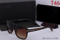 Wholesale framed bag - 2018 high qualtiy New Fashion Tom 517 Sunglasses For Man Woman Erika Eyewear ford Designer Brand Sun Glasses with original box + glasses bag