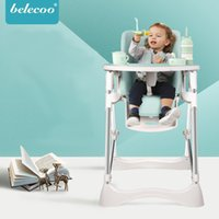Wholesale plastic high chairs resale online - Multifunctional Portable Children Highchairs Removable Baby Feeding Chair Highchair for Months Infant Lightweight Baby Dinning Chair