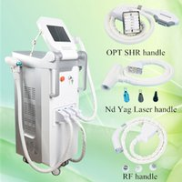 Wholesale Vertical Hair - Discount now!ipl rejuvenation machine Vertical Q Switch laser skin treatment for acne shr filters with Elight RF