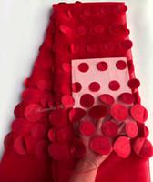 tissus de broderie africains achat en gros de-Livraison gratuite 5 mètres de broderie circulaire dentelle française dentelle africaine dentelle tissu tulle dentelle top qualité