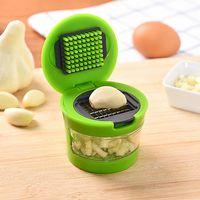 Wholesale home grinder for sale - Group buy Practical convenient Home Kitchen Tool Kit Garlic Press Chopper Slicer high quality Hand Presser Garlic Grinder