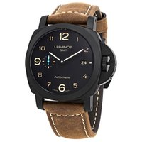 Wholesale mens automatic power reserve watch online - Mens Automatic mechanical watch New mm PAM1441 Days GMT Automatic Mens Watch Sapphire water proof watch