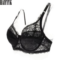 159568ca5a New 2017 Hot Sexy Super Thin AB Cup Women Bra Sexy Floral Lace Embroidery  Brassiere Transparent Underwear Breathable Bra